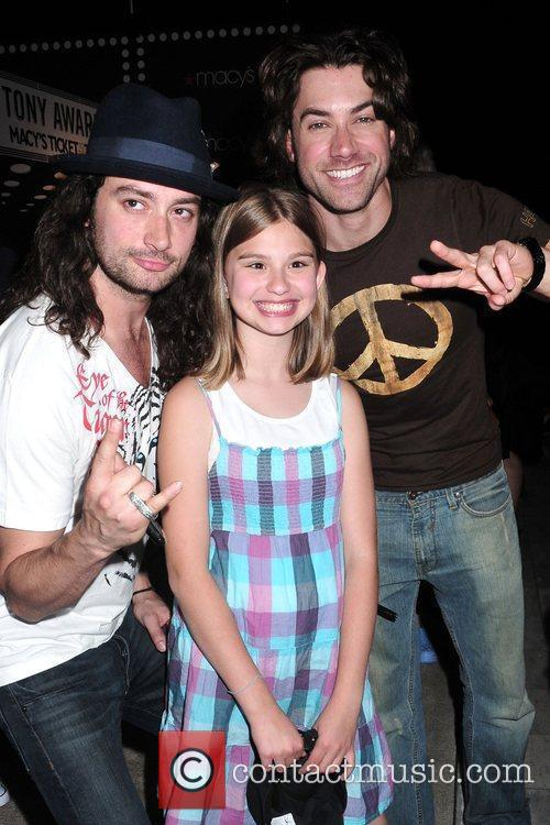 Constantine Maroulis, Hailey Saraney and Ace Young 4