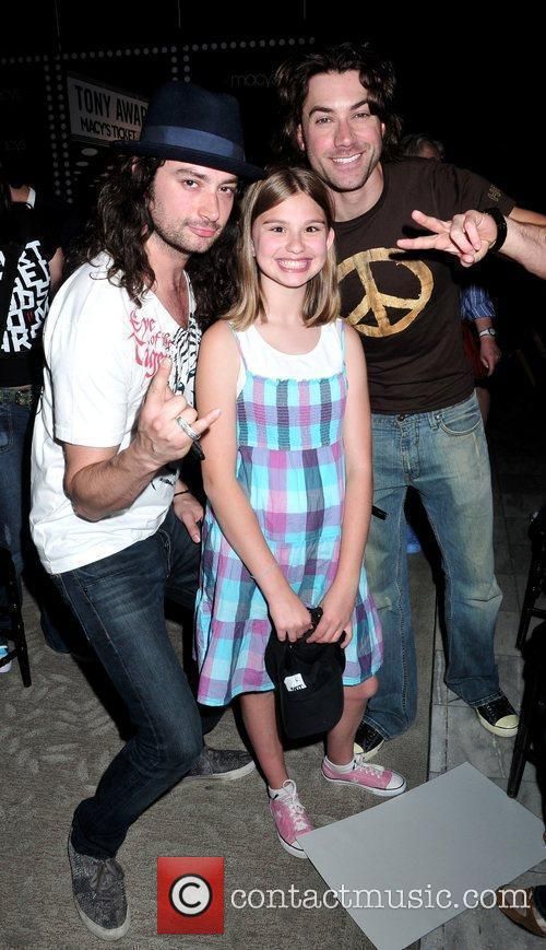 Constantine Maroulis, Hailey Saraney and Ace Young 2