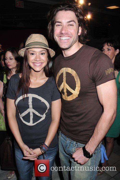 Diana Degarmo and Ace Young 2