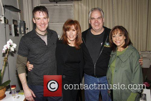 Brian Hutchison, Stefanie Powers, Michael Mulheren, and Valerie...