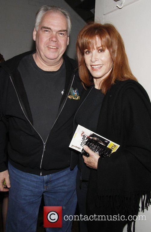 Michael Mulheren and Stefanie Powers.  Stefanie Powers...