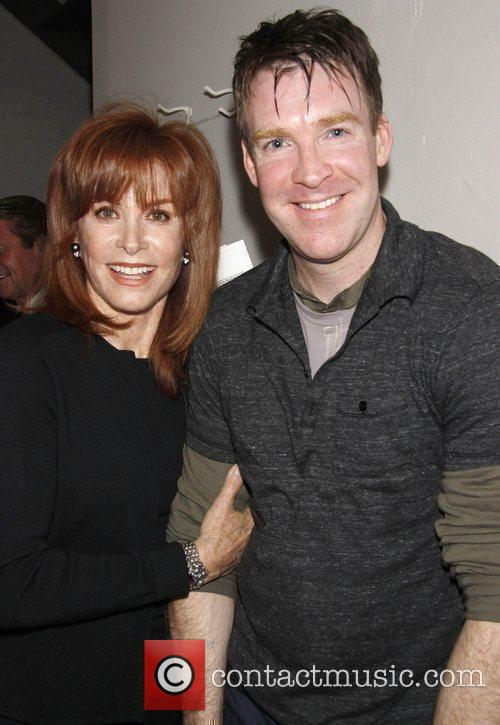 Stefanie Powers and Brian Hutchison. backstage at the...
