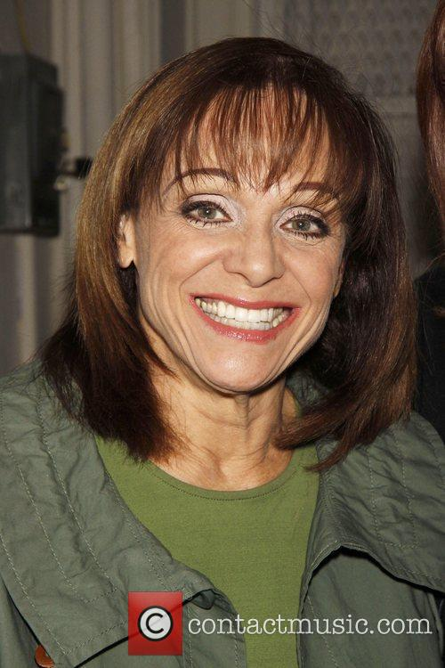 Valerie Harper (still in her Tallulah eye makeup)...