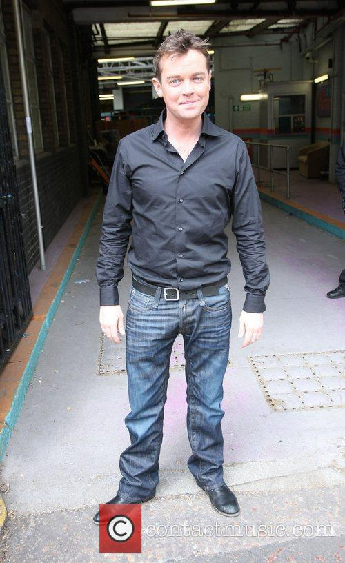 Stephen Mulhern Celebrities outside the ITV television studios....