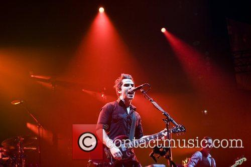 Stereophonics performing at the O2 Arena