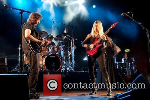 Steve Hackett performing live at Aula Magna in...