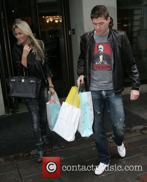 Alex Curran and Steven Gerrard 4