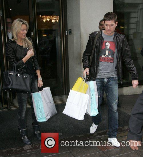 Alex Curran and Steven Gerrard 7