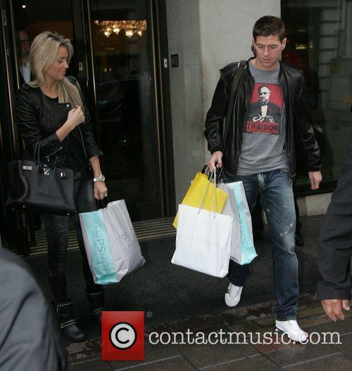 Alex Curran and Steven Gerrard 11