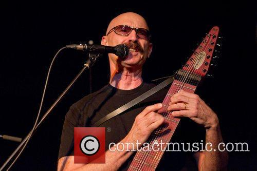 Tony Levin, of the group Stick Men performing...