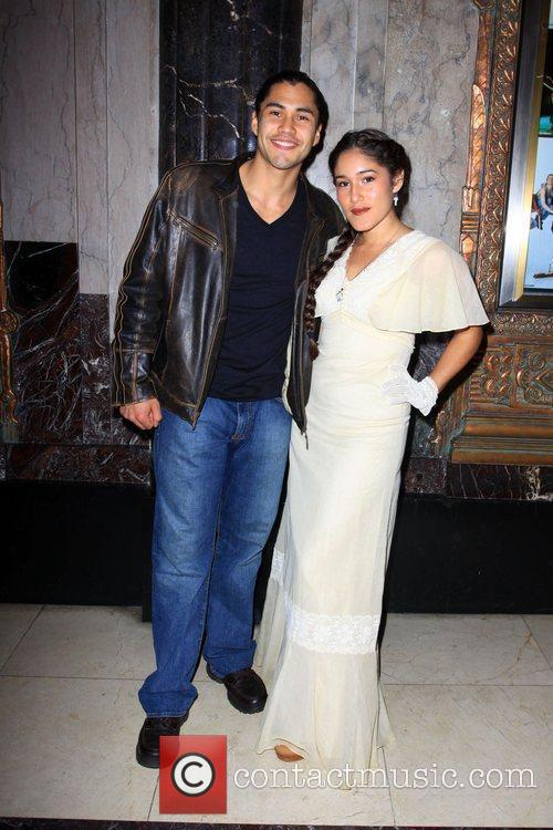 Qorianka Kilcher and guest Opening Night Of Stomp...
