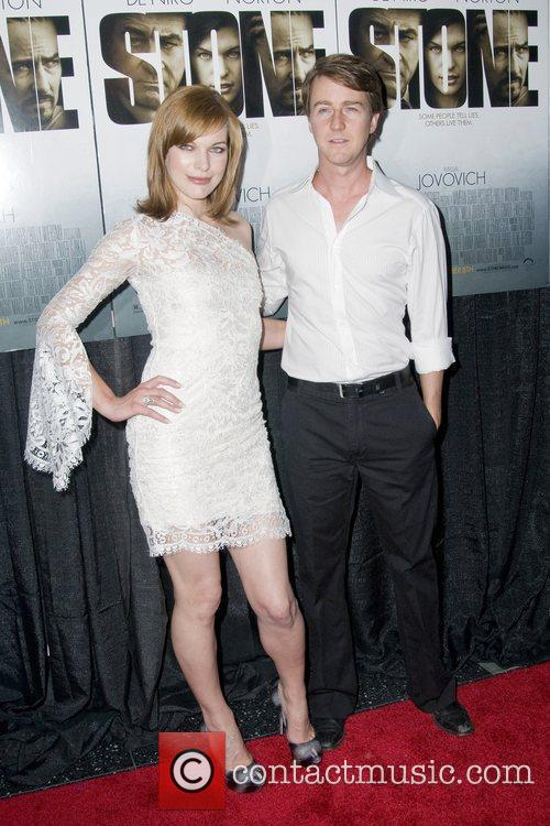 Milla Jovovich and Edward Norton 5