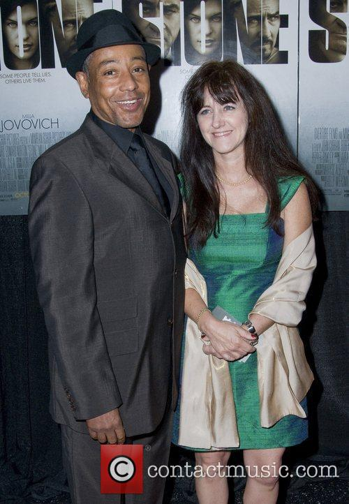 Giancarlo Esposito and guest New York Premiere of...