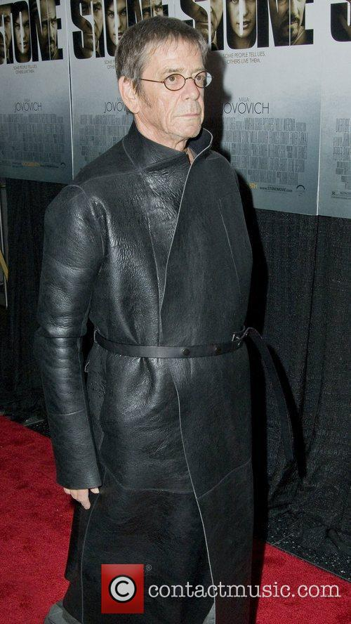 Lou Reed New York Premiere of 'Stone'at MOMA...