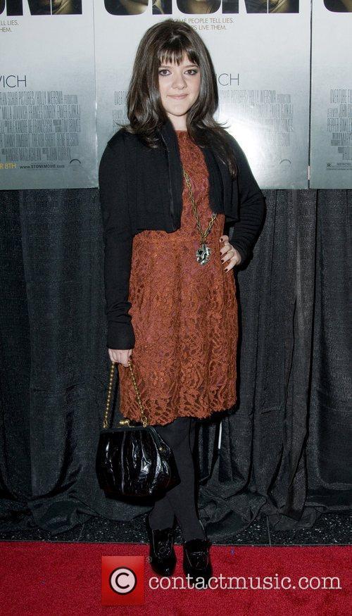Madeleine Martin New York Premiere of 'Stone'at MOMA...