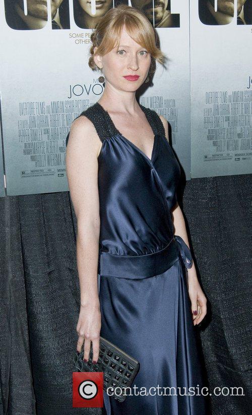 Pepper Binkley New York Premiere of 'Stone'at MOMA...