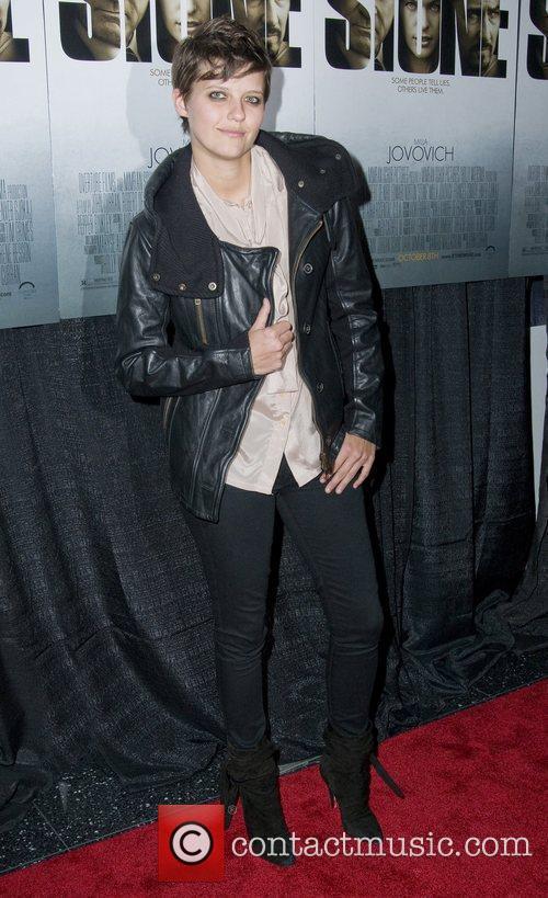 Kim Sholtz New York Premiere of 'Stone'at MOMA...
