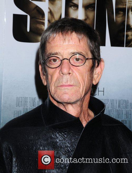 Lou Reed New York premiere of 'Stone' held...