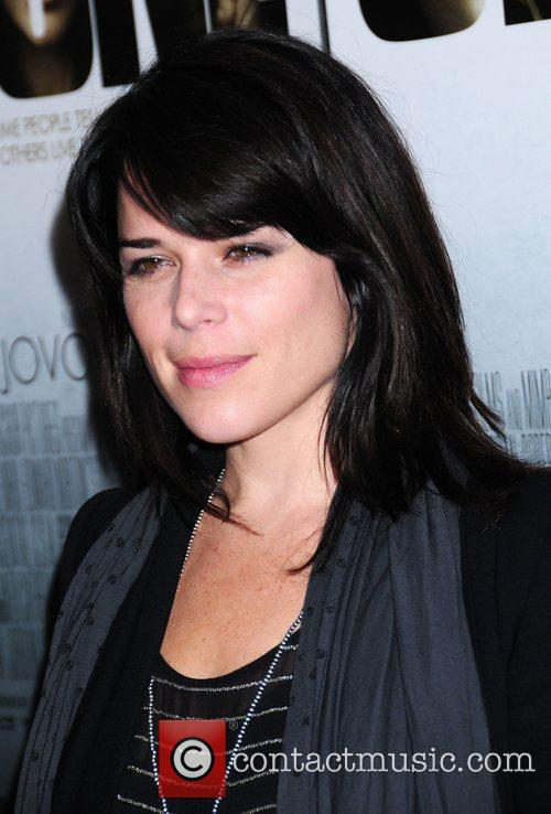 Neve Campbell New York premiere of 'Stone' held...