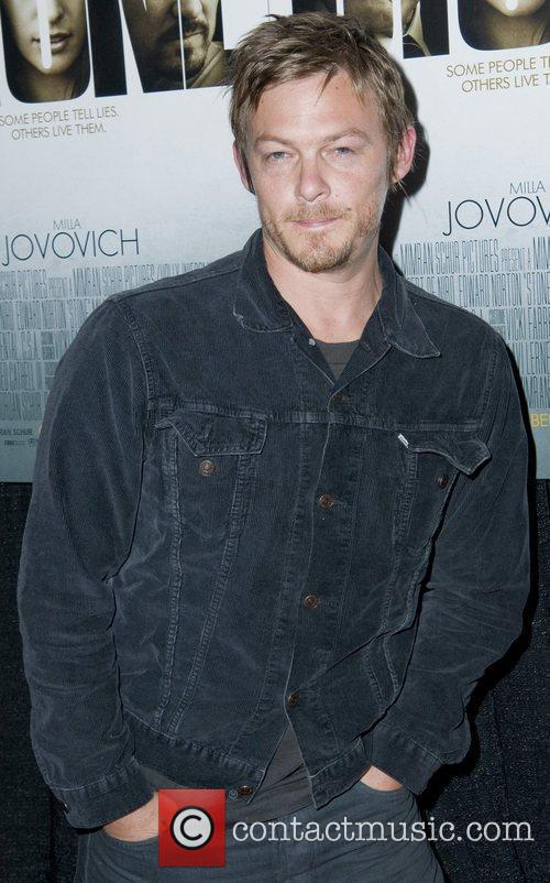 Norman Reedus New York Premiere of 'Stone'at MOMA...