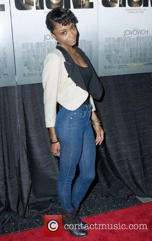 Yaya DaCosta  New York Premiere of 'Stone'at...
