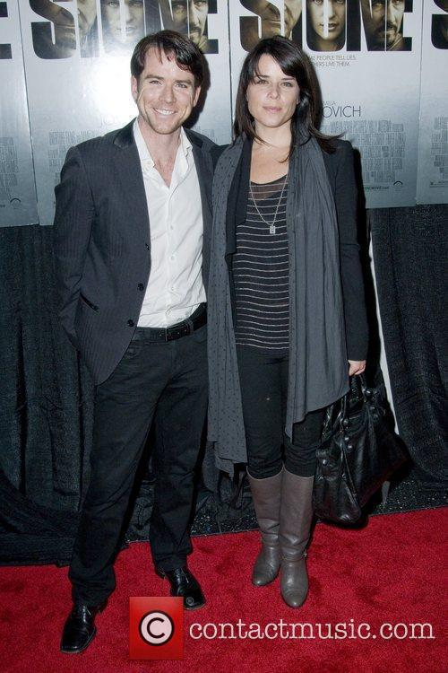 Christian Campbell and Neve Campbell New York premiere...