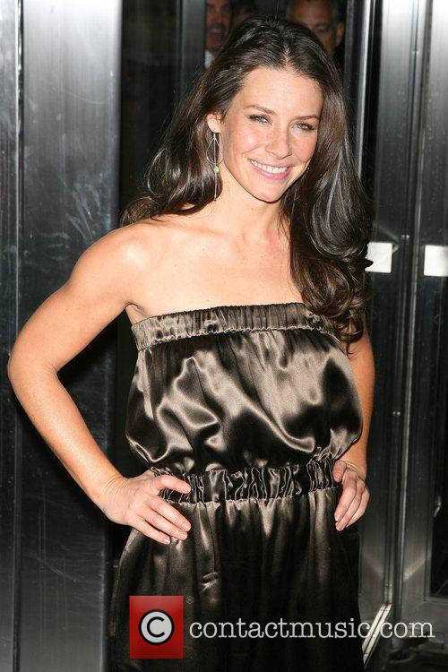Evangeline Lilly and Rolling Stones 2