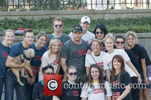 Stephen Baldwin and walkers Second annual New York...