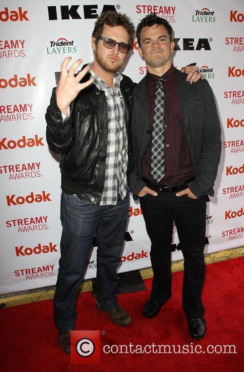 A.J. Buckley and Guest 2nd Annual Streamy Awards...
