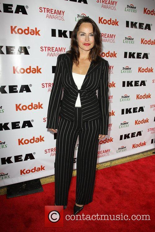 Crystal Chapell 2nd Annual Streamy Awards Arrivals held...