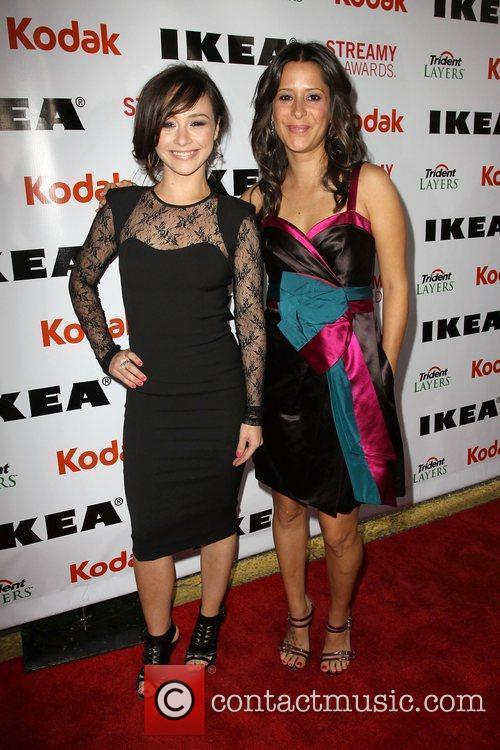 Danielle Harris and Guest 2nd Annual Streamy Awards...