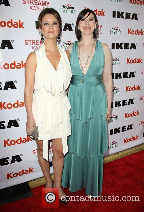 Taryn O'Neil and Guest 2nd Annual Streamy Awards...