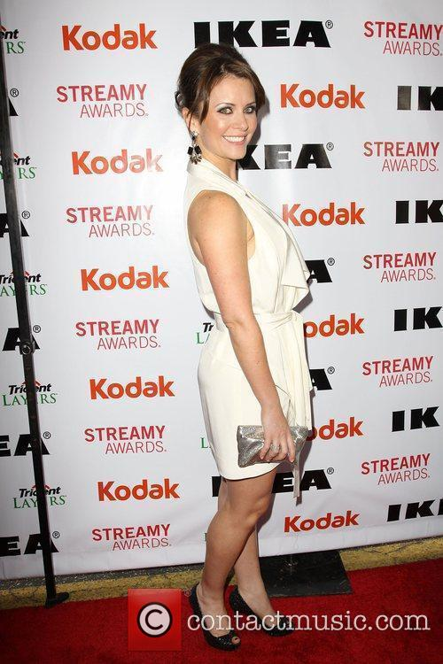 Taryn O'Neil  2nd Annual Streamy Awards Arrivals...
