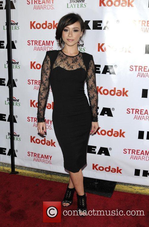 Danielle Harris 2nd Annual Streamy Awards Arrivals held...