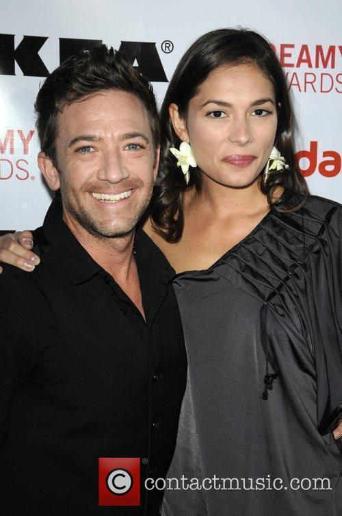 David Faustino and guest 2nd Annual Streamy Awards...