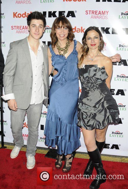 David Henrie, Illeana Douglas and Justine Bateman 2