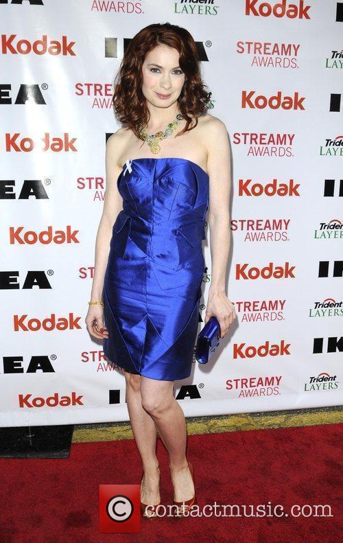 Felicia Day 2nd Annual Streamy Awards Arrivals held...