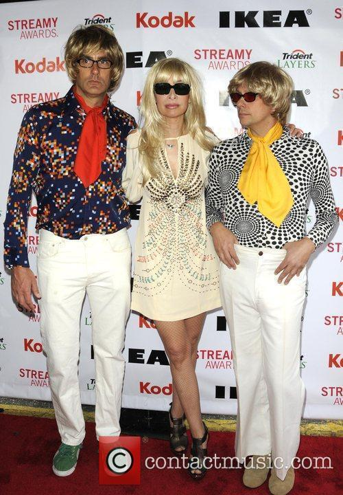 Illeana Douglas and guests 2nd Annual Streamy Awards...