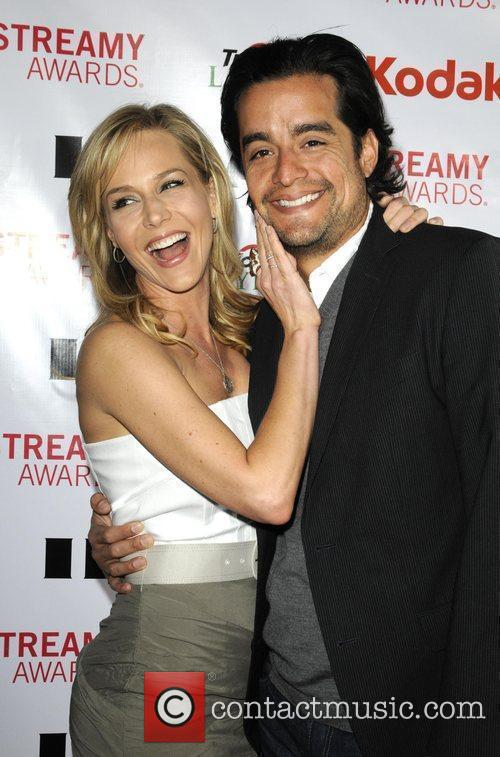 Julie Benz and guest 2nd Annual Streamy Awards...