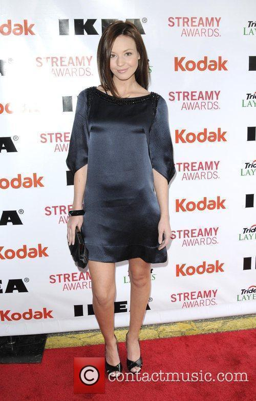 Samantha Droke 2nd Annual Streamy Awards Arrivals held...