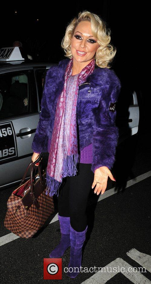 Kristina Rihanoff The stars of Strictly Come Dancing...