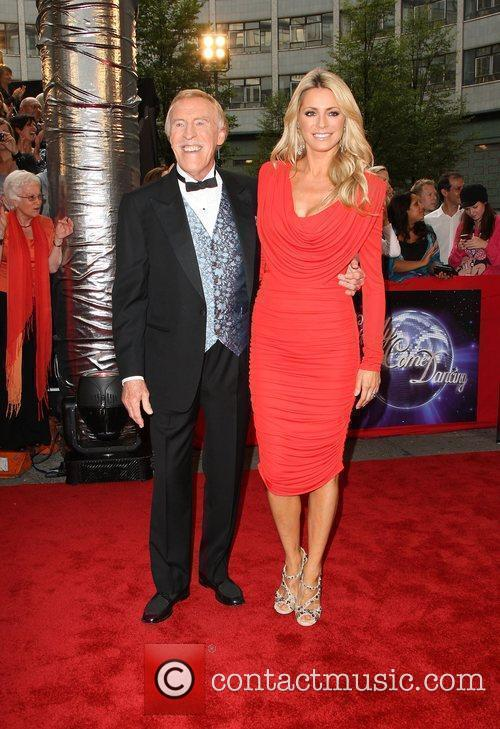 Bruce Forsyth and Tess Daly - Presenters BBC...