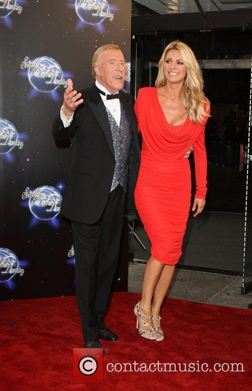 Bruce Forsyth and Tess Daly BBC announces the...
