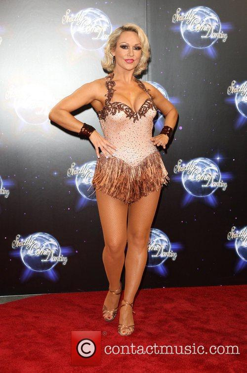 Kristina Rihanoff BBC announces the line-up for 'Strictly...