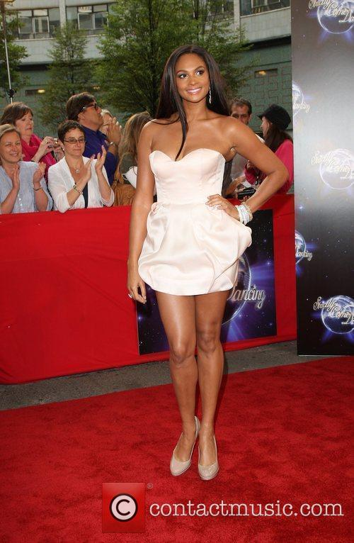 Alesha Dixon BBC announces the line-up for 'Strictly...
