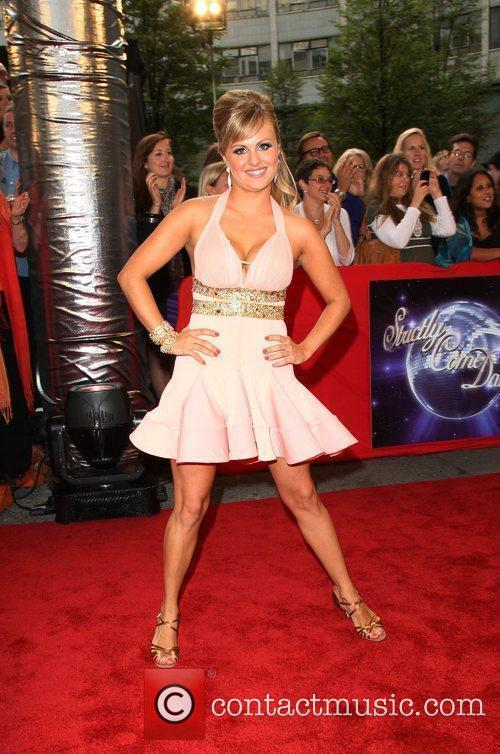 Tina O'Brien BBC announces the line-up for 'Strictly...