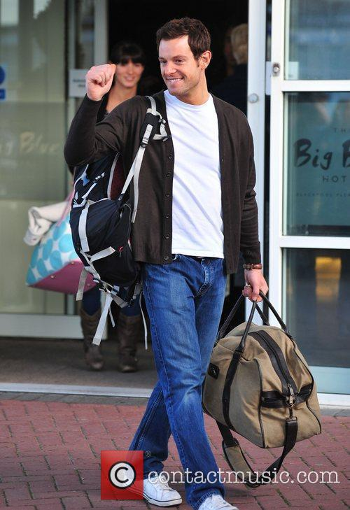 'Strictly Come Dancing' stars leaving their hotel in...