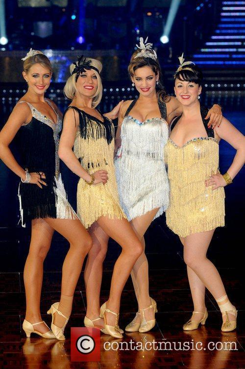 The launch of the 'Strictly Come Dancing' tour...