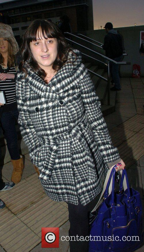 Arrives at her Hotel ahead of the 'Strictly...