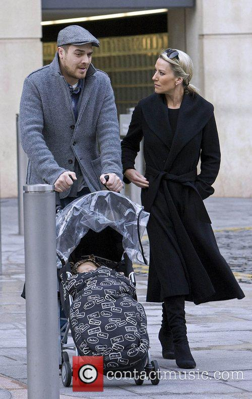 Zoe Lucker, James Herbert and Baby 6